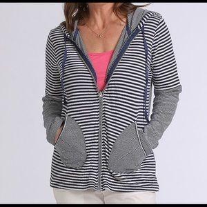 Fresh Produce beachside zip hoodie. 100% cotton.